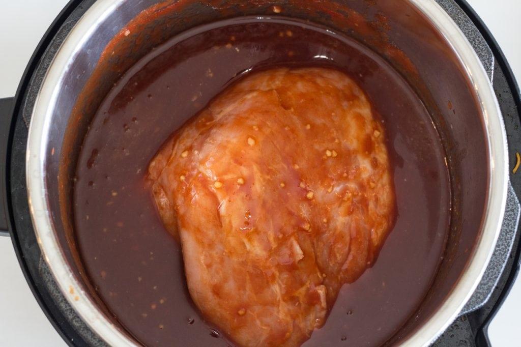 Instant Pot Sweet Pork Recipe
