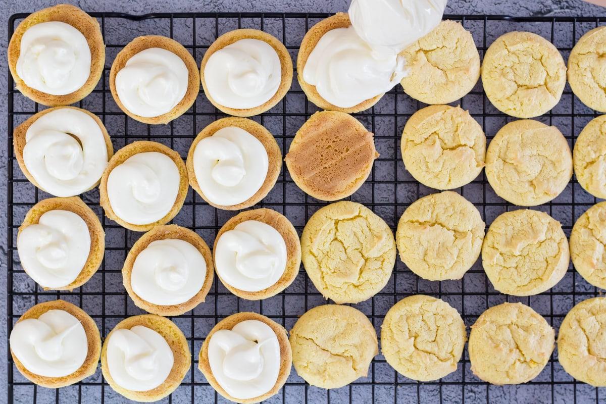 Yellow Cake Mix Cookie