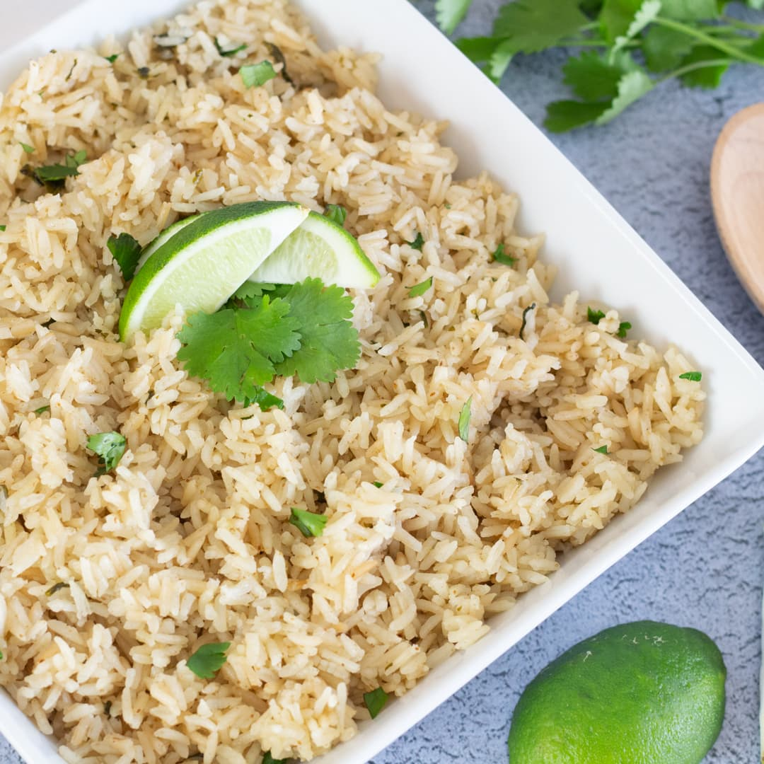 How to make Instant Pot Cilantro Lime Rice