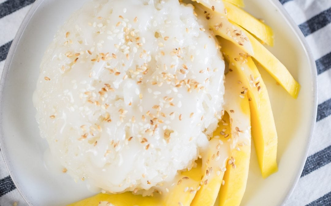 Delicious Mango Sticky Rice