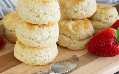 Hot and Fluffy Homemade Biscuits, just like Grandma'