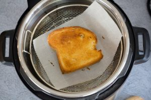 PB&J in CrispLid Air Fryer