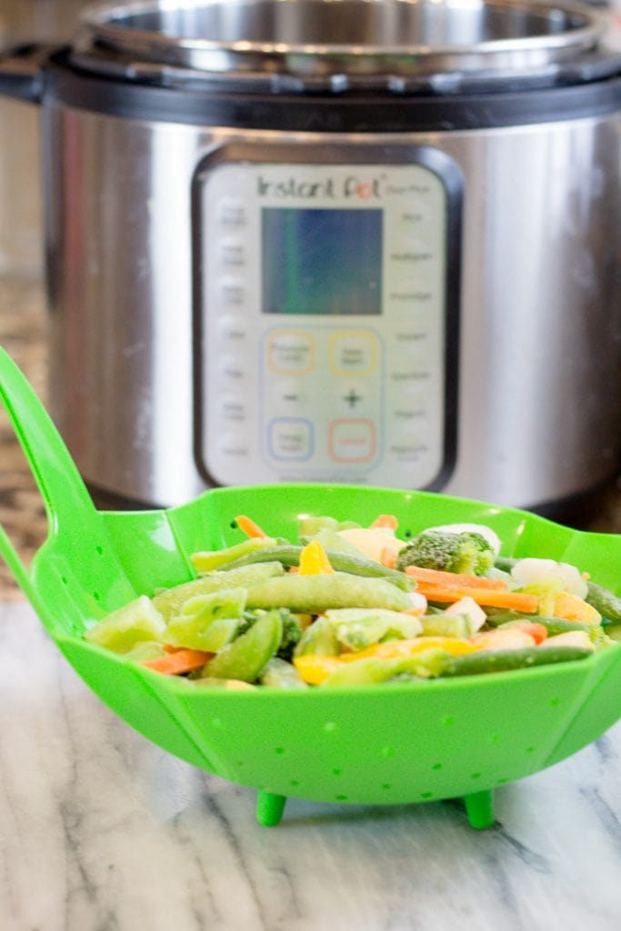 Instant Pot Steamed Veggies