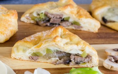 Super Simple Homemade Philly Cheesesteak Sandwiches
