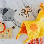 Safari Embellishments for Diaper Cake