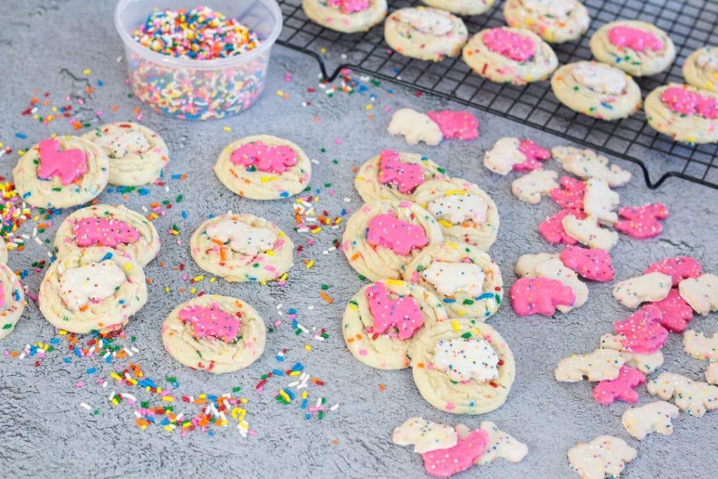 Circus Animal Sugar Cookie