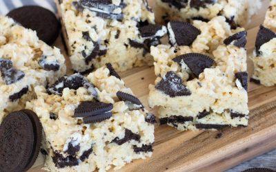 Easy to Make Oreo Rice Krispie Treats Recipe
