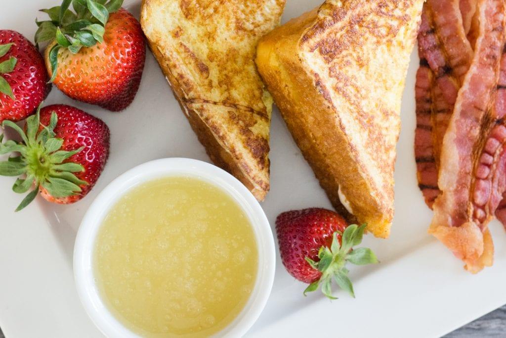 Stuffed Strawberry French Toast
