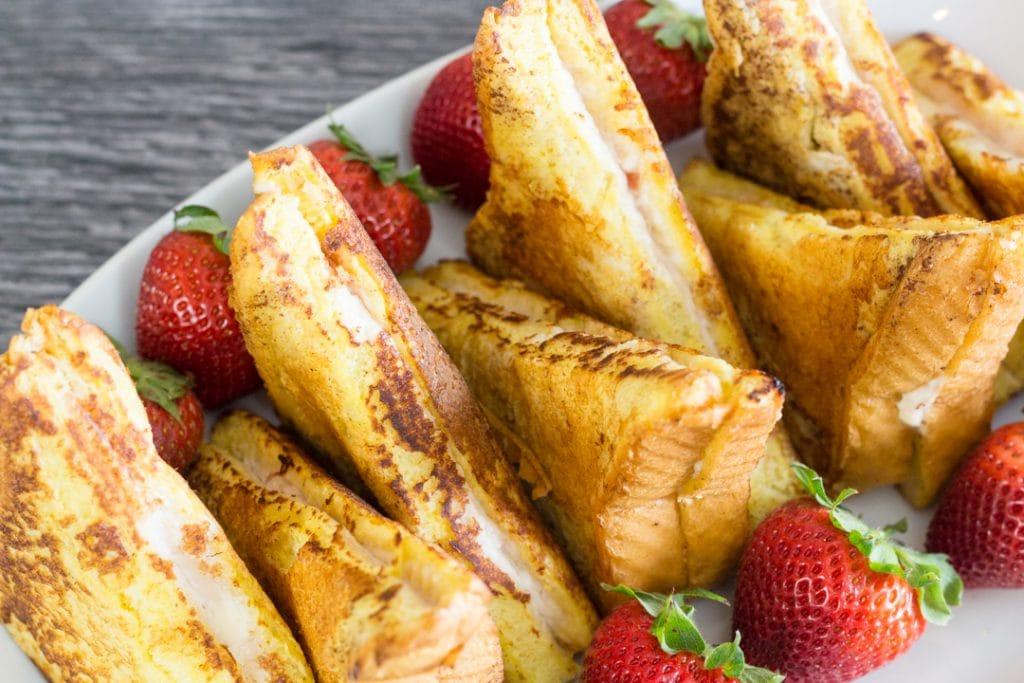 Strawberry Stuffed French Toast