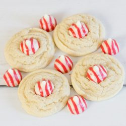 Peppermint Kiss Cookie