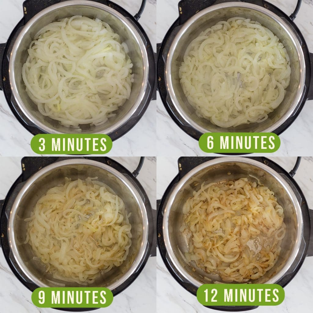 How to Saute Onions in Instant Pot