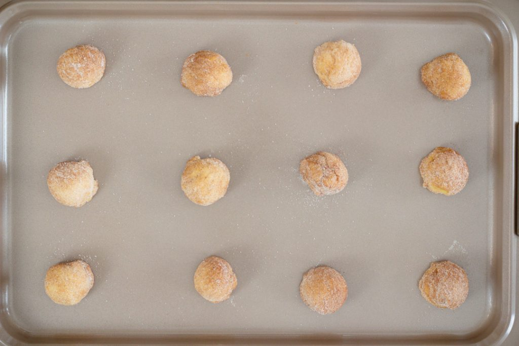 Cookies on Anolon Baking Sheet