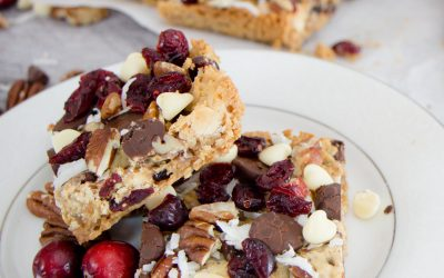 Let's Make Christmas Magic Cookie Bars