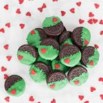 Grinch Dipped Oreos