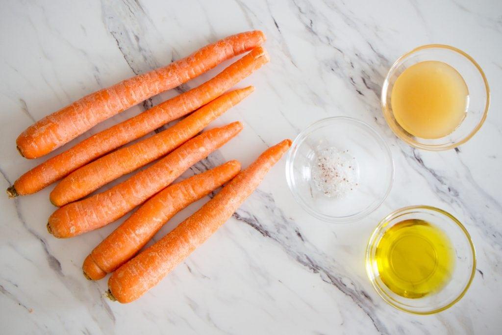 Honey Roasted Carrots Ingredients