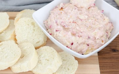 How to make the Perfect Appetizer Cranberry Cream Cheese Dip