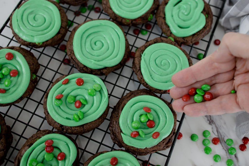 Holiday Brownie Cookies
