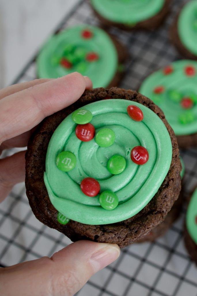Holiday Cookie Brownie