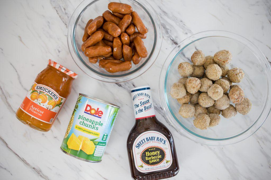 Hawaiian Meatballs and Lil Smokies