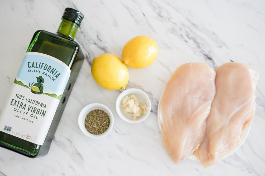 Lemon Chicken Marinade Ingredients