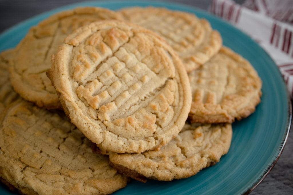 Old Fashioned Peanut Butter Cookie