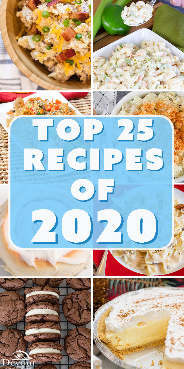 From Breakfast to Dinner, Appetizer to Dessert. Take a look at the TOP 25 Recipes as chosen by YOU the Viewers. Many of these recipes are holding strong for the 2nd year in a row. Make sure to take a look and tell me if your FAVORITE Recipe made the list! #devourdinner #devourpower #top25recipes #instantpotrecipes #easyrecipes #familyfavorie #easyinstantpotrecipes #buzzfeast