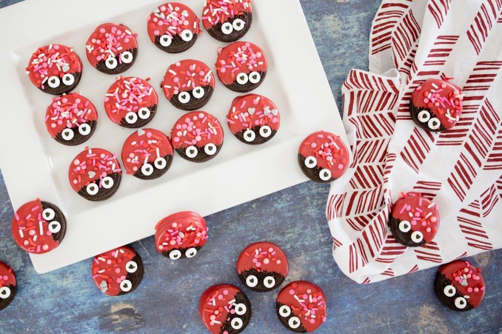 Love Bug Valentine Oreo Cookies