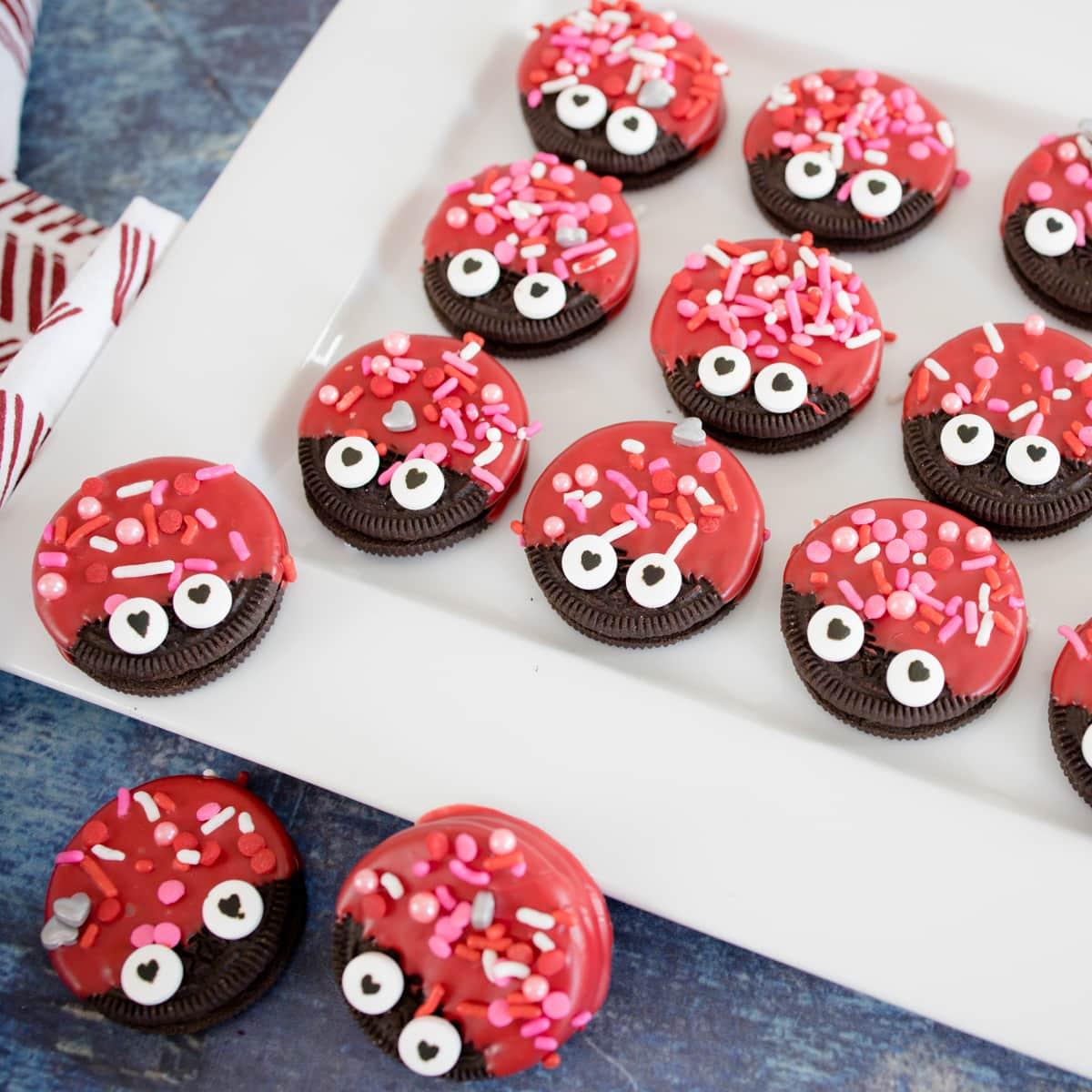 Love Bug Oreo Cookies
