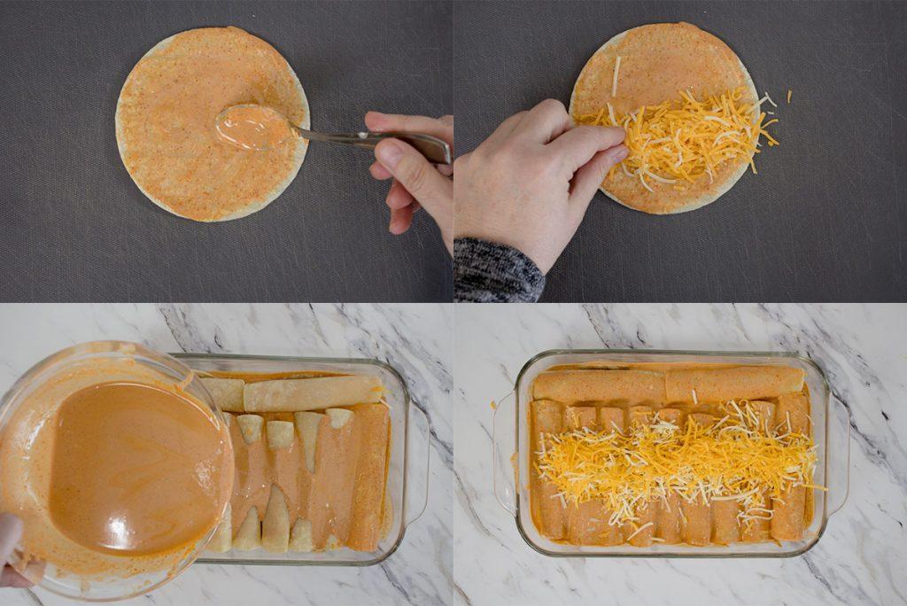 How to make Cheese Enchiladas