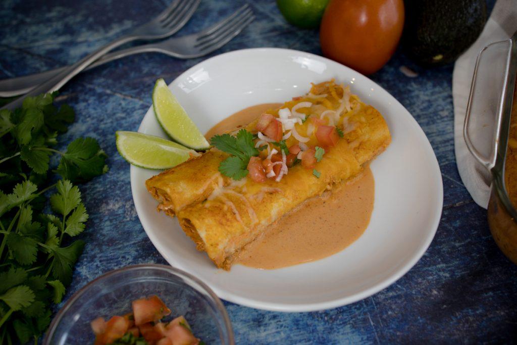 Red Cheese Enchiladas