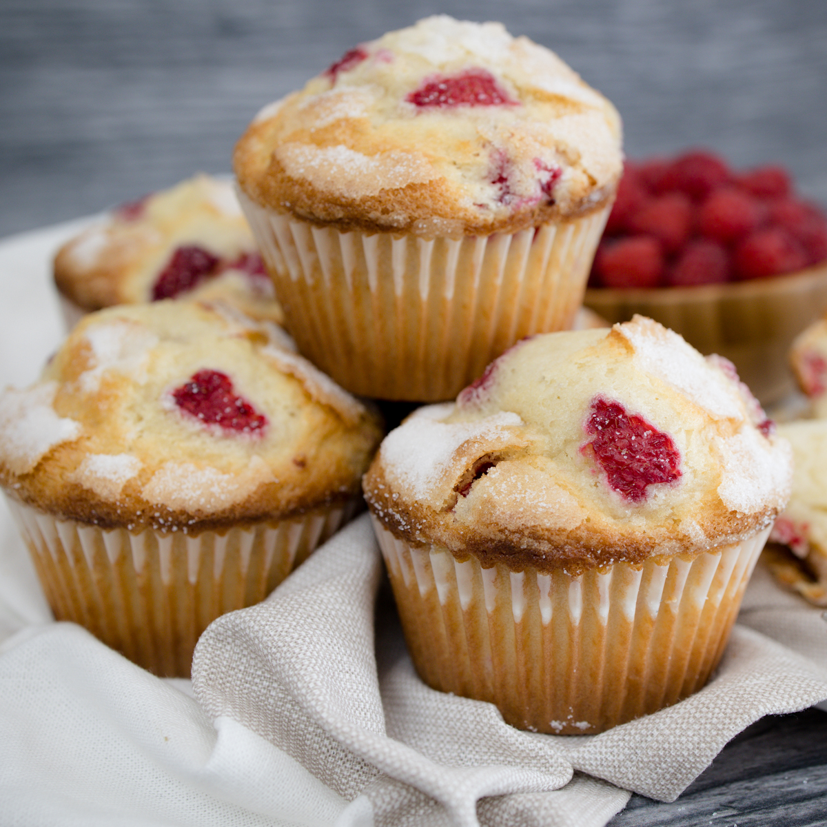 Raspberry Muffin Recipe