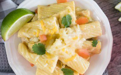 Instant Pot Green Chicken Enchilada Casserole