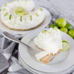 Key Lime No Bake Cheesecake