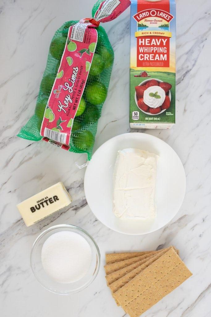 Ingredients No Bake Cheesecake