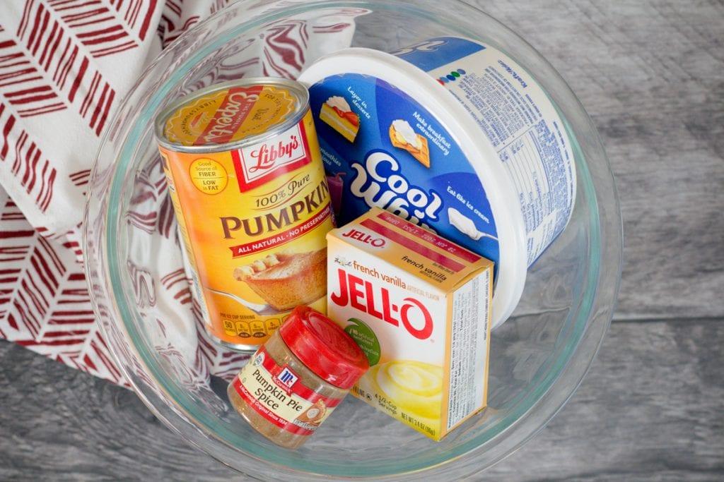 Pumpkin Fluff Ingredients