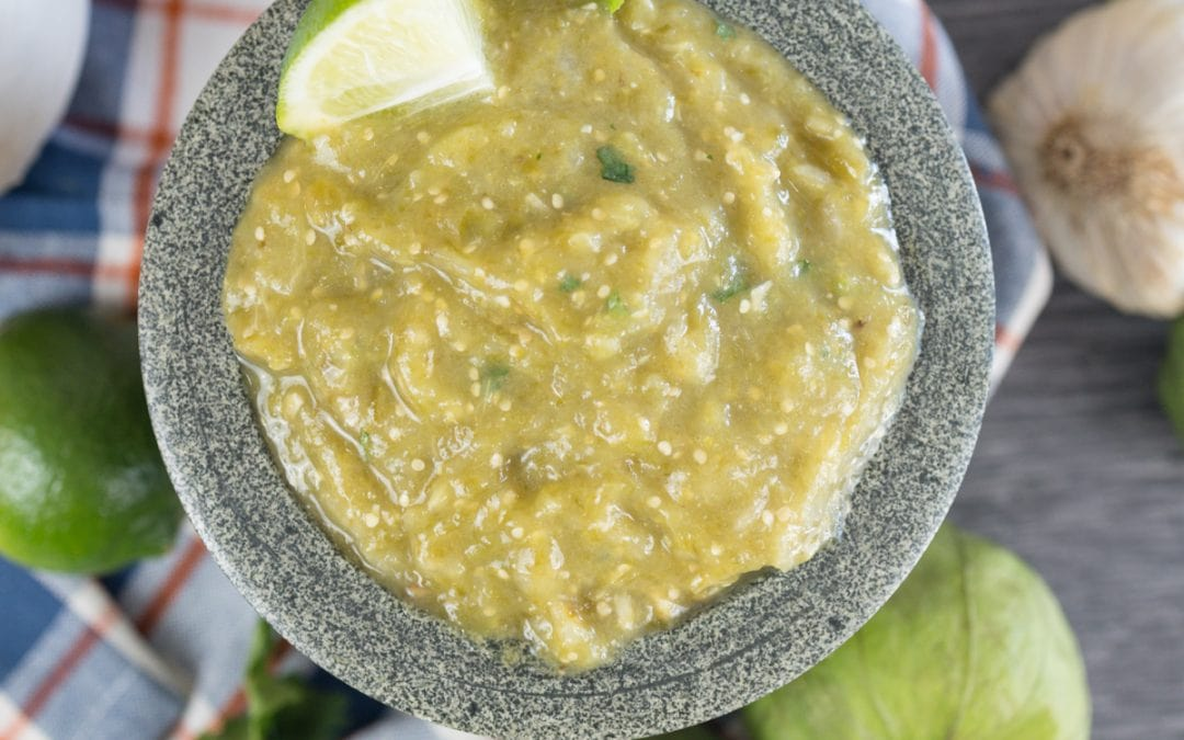 Making Fresh Salsa Verde