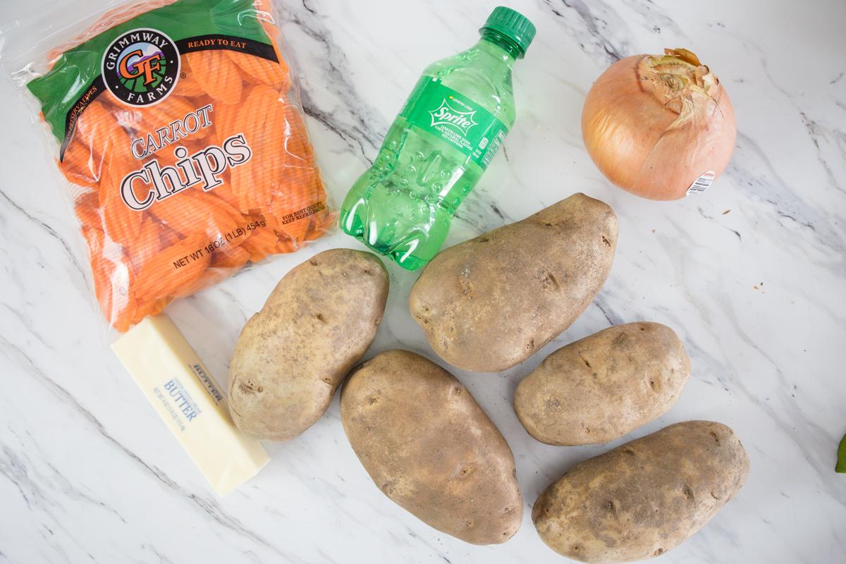 Cheesy Potatoes Ingredients