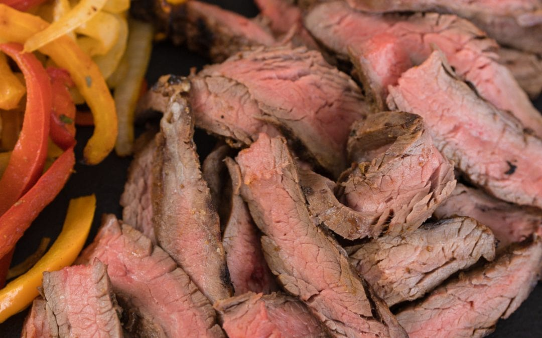 The BEST Fajita Steak Marinade