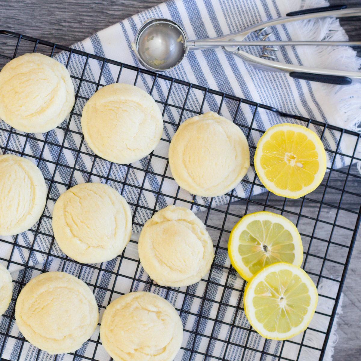 Sweet Tart Lemon Cookies Recipe
