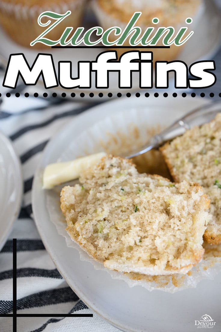 Sweet and delicious Zucchini Muffins with a flakey sweet top perfect for Breakfast, Brunch or snack. Zucchini keeps these muffins moist. Easy to make small batch recipe. Make 6 Jumbo, 12 Regular, or up to 24 Mini Muffins. Step by Step directions for all levels of home chefs #devourdinner #devourpower #zucchinimuffins #zucchinimuffins #breakfast #breakfastrecipe #muffinrecipe #iammartha #easyrecipe #familyrecipe #imperialsugar #dixiecrystals #buzzfeed #yum #yummy #foodiefriday