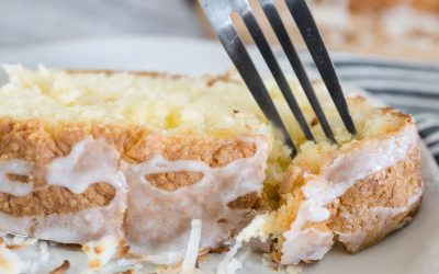 Delicious Rich Coconut Pound Cake