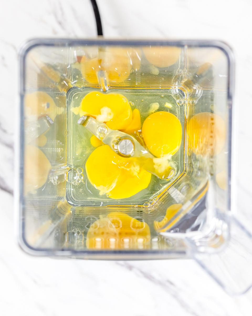Eggs in Blender