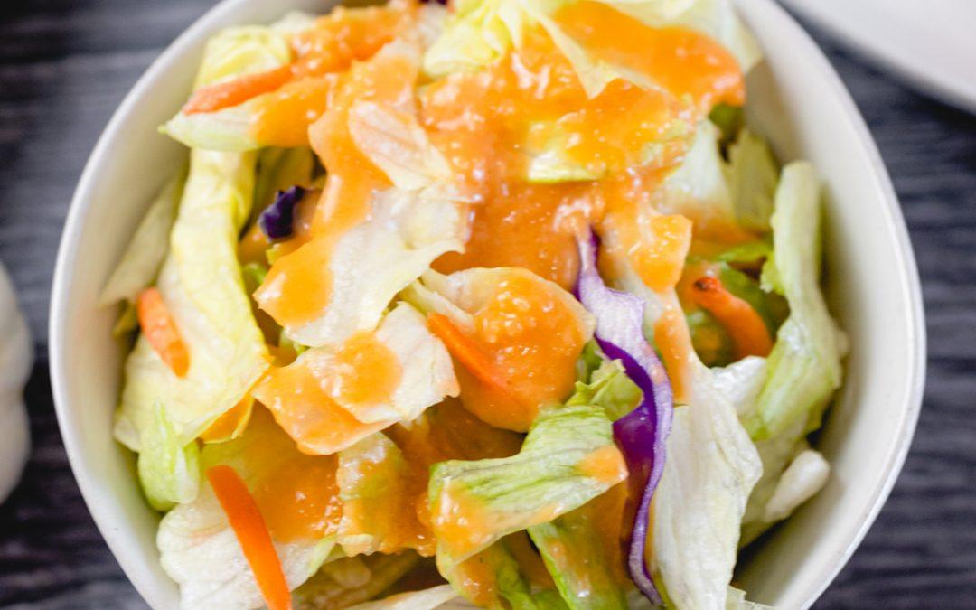 Easy to make Ginger Salad Dressing