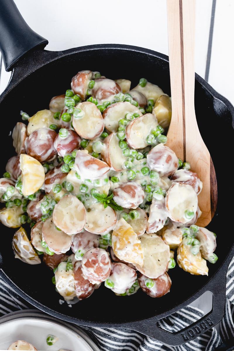 Creamed Peas and Potatoes