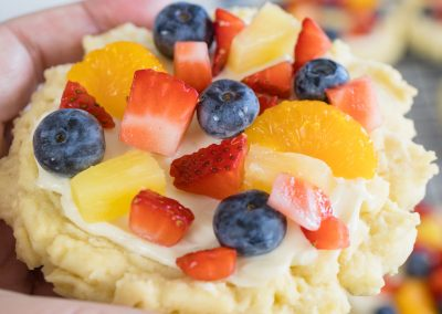 Soft and Delicious Fruit Pizza Sugar Cookies
