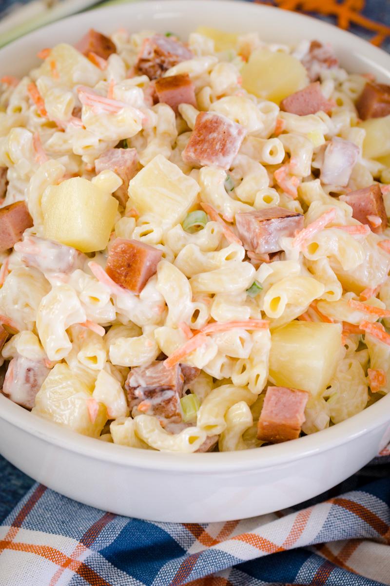 Ono Hawaiian Mac Salad with Spam