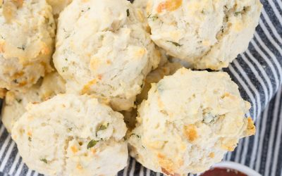 Delicious Drop Biscuits with Cheese
