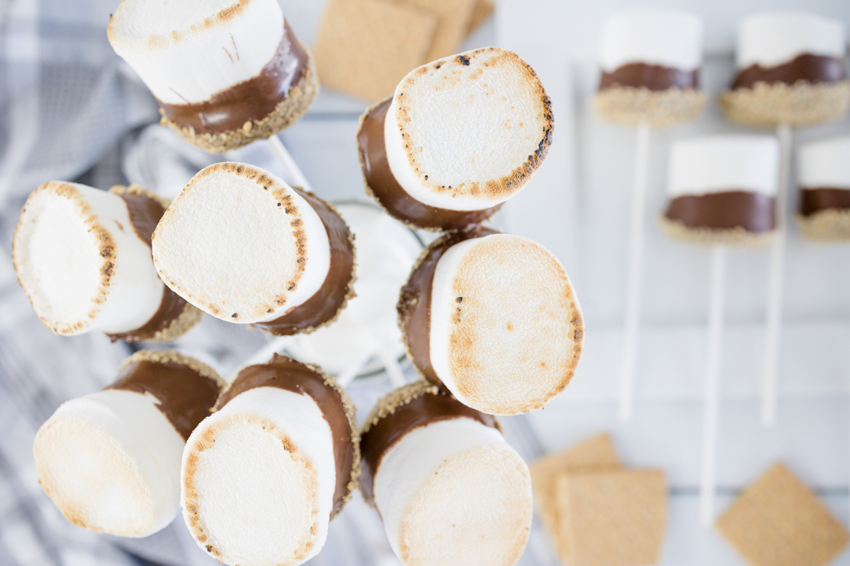 Toasted Smores on a Stick
