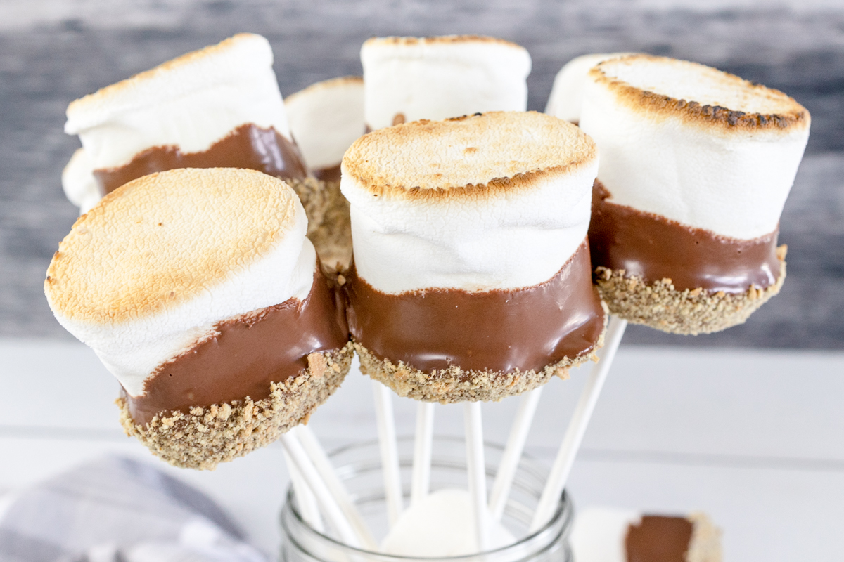 S'mores on a stick