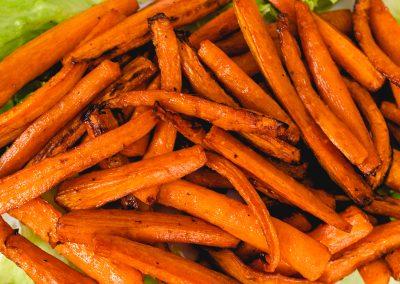 Air Fryer Carrots #FallFlavors